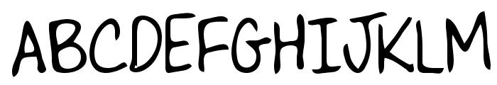 Lizard Regular Font UPPERCASE