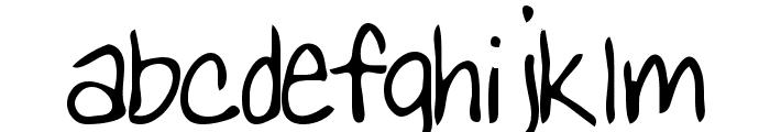Lizard Regular Font LOWERCASE