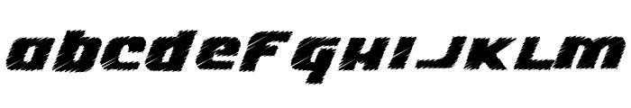 Lizzie Font LOWERCASE