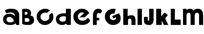 libre Font UPPERCASE