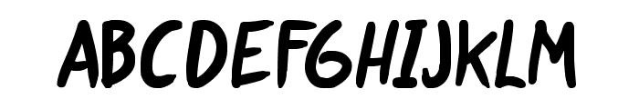 life signals Bold Font UPPERCASE