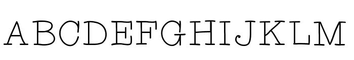 limetart Font UPPERCASE