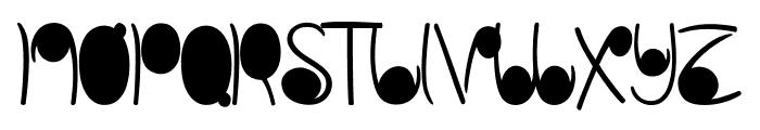 linestonesDemo Font UPPERCASE