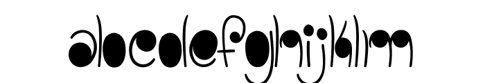 linestonesDemo Font LOWERCASE