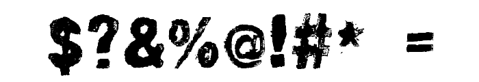 lino-set Font OTHER CHARS