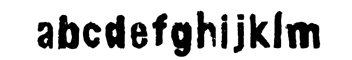 lino-set Font LOWERCASE