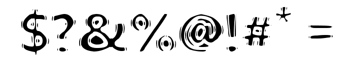 linoleum Font OTHER CHARS