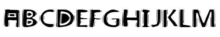 linoleum Font UPPERCASE