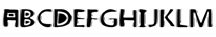 linoleum Font LOWERCASE