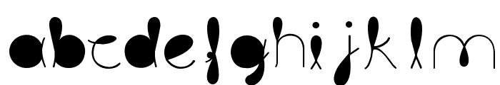 liquitRegular Font LOWERCASE