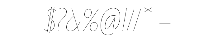 Line Sixteen Font OTHER CHARS