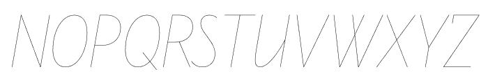 Line Ten Font UPPERCASE
