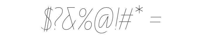Line Twenty Font OTHER CHARS