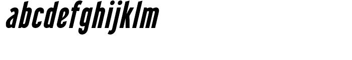 Libel Suit Bold Italic Font LOWERCASE