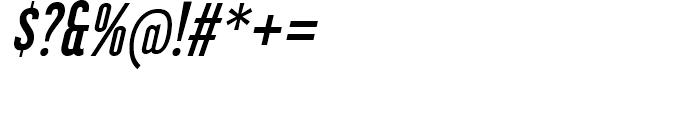 Libel Suit SemiBold Italic Font OTHER CHARS