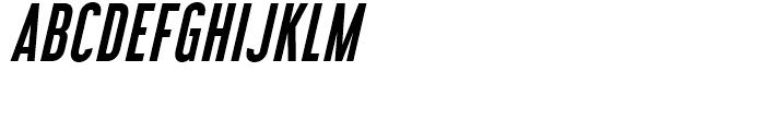 Libel Suit SemiBold Italic Font UPPERCASE