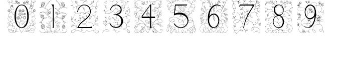 Libertee Regular Font OTHER CHARS