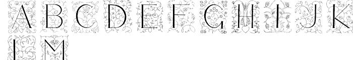 Libertee Regular Font LOWERCASE