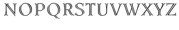 Lidia Regular Font UPPERCASE