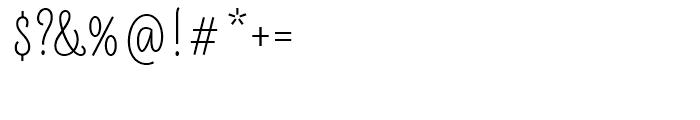 LiebeLotte Semi Bold Font OTHER CHARS