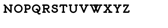Liliming Bold Font UPPERCASE