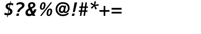 Lina 66 SemiBold Italic Font OTHER CHARS