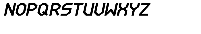 Line Wire Bold Italic Font UPPERCASE