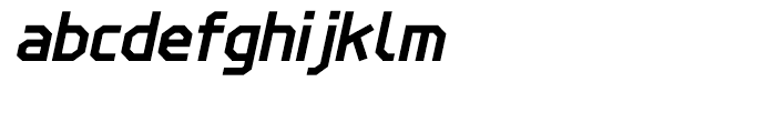 Line Wire Bold Italic Font LOWERCASE