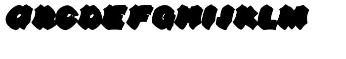 Line44 Shadow Font UPPERCASE