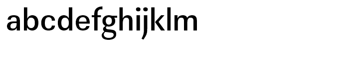 Linear Medium Narrow Font LOWERCASE