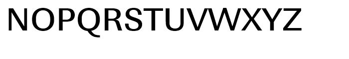 Linear Medium Font UPPERCASE