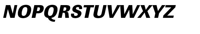 Linear Ultra Bold Narrow Oblique Font UPPERCASE