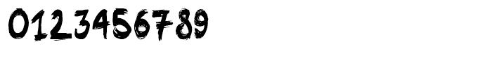 Linger On Regular Font OTHER CHARS