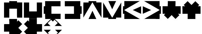Linotype American Indian Regular Font UPPERCASE