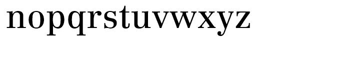 Linotype Centennial 55 Roman Font LOWERCASE
