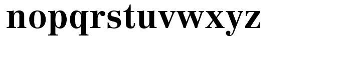 Linotype Centennial 75 Bold Font LOWERCASE