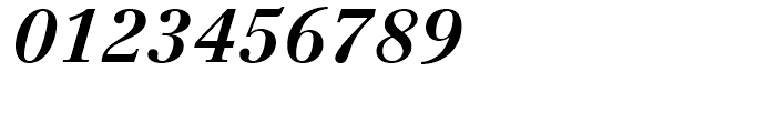 Linotype Centennial 76 Bold Italic Font OTHER CHARS