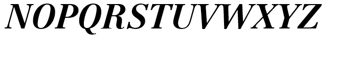 Linotype Centennial 76 Bold Italic Font UPPERCASE
