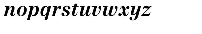 Linotype Centennial 76 Bold Italic Font LOWERCASE