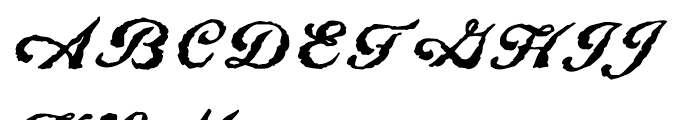 Linotype Constitution Regular Font UPPERCASE