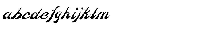 Linotype Constitution Regular Font LOWERCASE