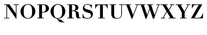 Linotype Didot eText Bold Font UPPERCASE