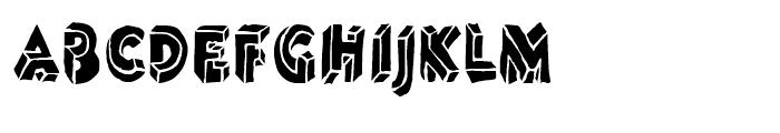 Linotype Dummy Black Font UPPERCASE