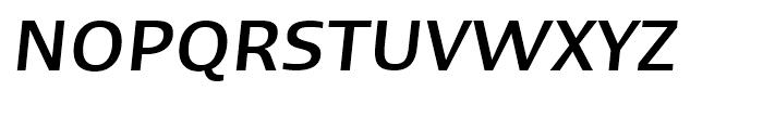 Linotype Ergo Hebrew Medium Italic Font UPPERCASE