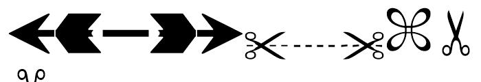 Linotype European Pi 3 Font UPPERCASE