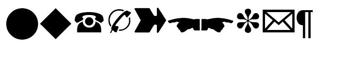 Linotype European Pi 3 Font LOWERCASE