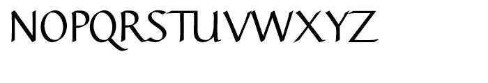 Linotype Gaius Bold Straight Font UPPERCASE