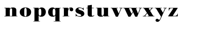 Linotype Gianotten Black Font LOWERCASE