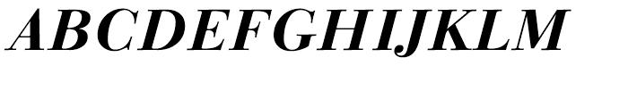 Linotype Gianotten Bold Italic Font UPPERCASE