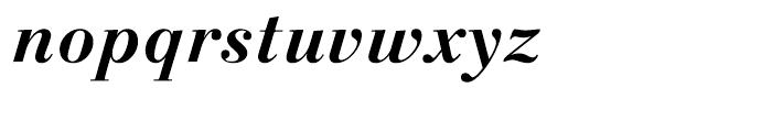 Linotype Gianotten Bold Italic Font LOWERCASE